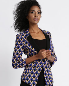 Vero Moda 3/4 Blazer Multi