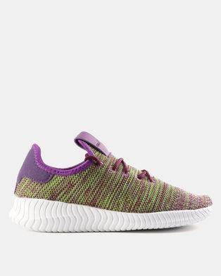 ced785eb690274 Tom Tom Infinity Sneakers Purple Multi