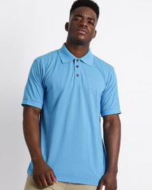 Birdi Kingsbarns Poly Cotton Golfer Airforce Blue