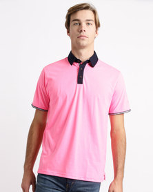 Birdi St Andrews Sports Management Poly Cotton Golfer Electric Pink