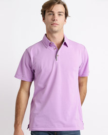 Birdi Troon Sports Management Lacoste Poly Cotton Golfer Lilac