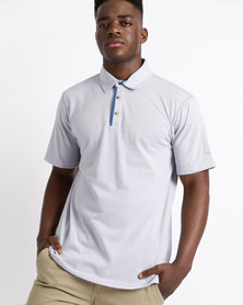 Birdi Troon Sports Management Lacoste Poly Cotton Golfer Silver/Grey