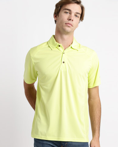 Birdi Turnbury Sports Management Poly Interlock Golfer Neon Lime
