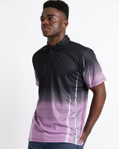 Birdi Gleneagles Sports Management Poly Interlock Golfer Lilac