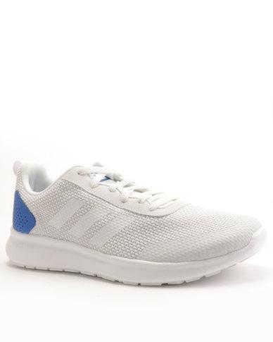 b75e00c57882cc adidas Performance CF Element Race Sneaker White Blue