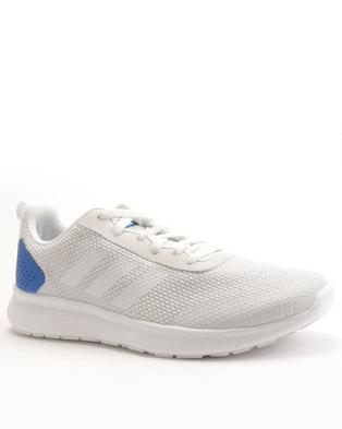 buy popular da9cd 723e6 adidas Performance CF Element Race Sneaker White/Blue
