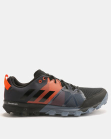 adidas Performance Kanadia 8.1 Trainer Carbon Black/Orange