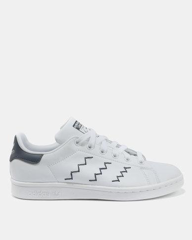 free shipping ab8e5 32262 adidas Stan Smith Womens Sneakers White Trablue   Zando