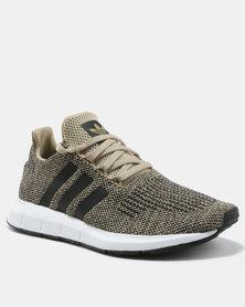 adidas Swift Run Sneakers Raw Gold/Core Black/FTWR White