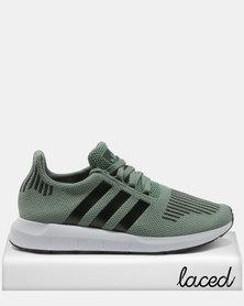 adidas Swift Run Sneakers Green/Black/White