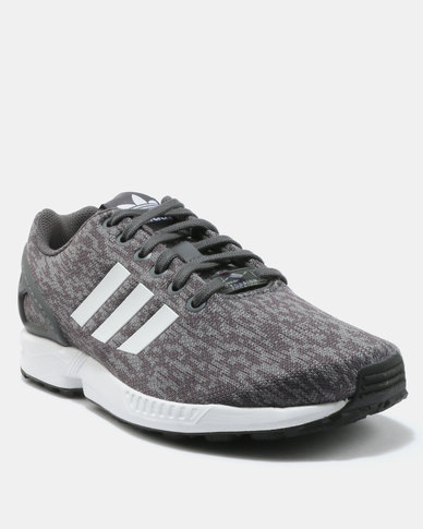 24512d0e1bf adidas ZX Flux Sneakers Grey White Black