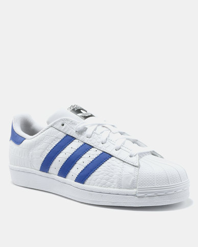 -50% adidas SuperStar Sneakers White/Blue