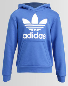 adidas Hooded Sweat Blue