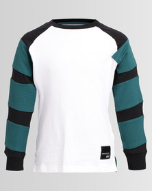 adidas Long Sleeve T-Shirt White