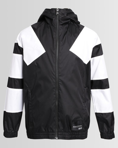 white black adidas jacket