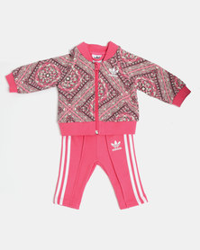 Adidas I Graphic SST Tracksuit Multi