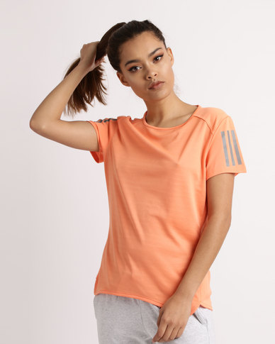 adidas Performance RS SS Womens T-shirt Orange