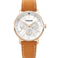 Lambretta Ladies Watch Leather With Rose Gold Silver