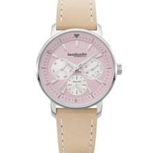 Lambretta Ladies Watch Leather Pink Natural
