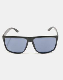 You & I Oversized Square Sunglasses Matte Black
