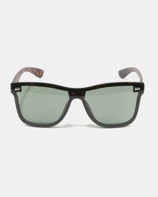 You & I Oversized Square Sunglasses Tortoiseshell Multi