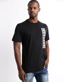 Converse Cons Stamped Tee Black