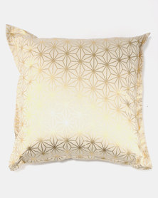 Fabricor Stardust Scatter Cushion Gold