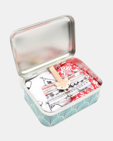 Tassels and Treasures Foxable Bibs Foxies 2 Piece Set Multi  387f5c1b1676a