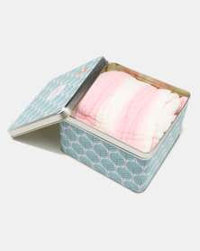 Tassels and Treasures Foxable Ultra Lux 6 Layer Blanket Pink