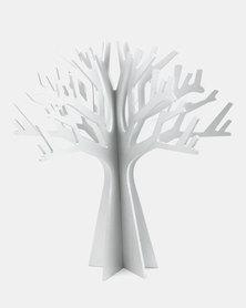 Tassels and Treasures Baobab Tree Silver