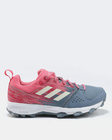 adidas Performance Galaxy Trail Womens Sneakers Raw Steel/Chalk White