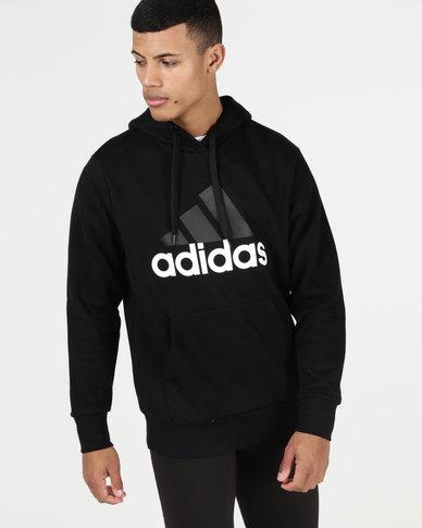 deda430af4 adidas Performance ESS LIN Pullover FT Hoodie Black