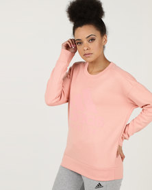 adidas Performance Ladies Sid Sweat Shirt Trace Pink S17