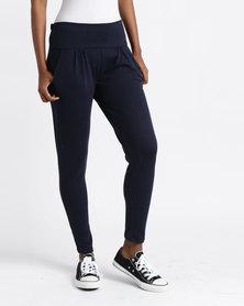 Slick Classic Casual Pants Navy