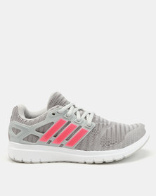 adidas Performance Energy Cloud V Running Shoes White/Pink/Grey