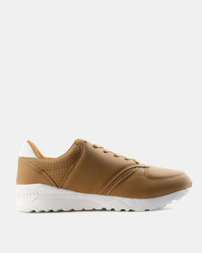 Tom_Tom Venture Nubuck PU Sneakers Tan
