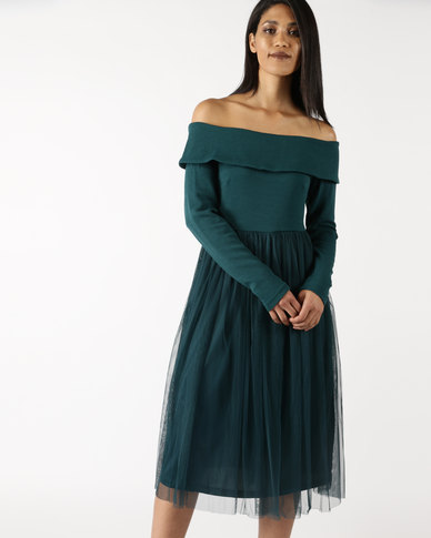 f4b4c1d66ac4 Legit Long Sleeve Off The Shoulder Prom Dress Green