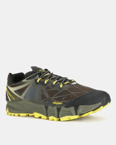 quite nice 3bb08 aaaf6 Merrell Agility Peak Flex Sneakers Beluga & Olive