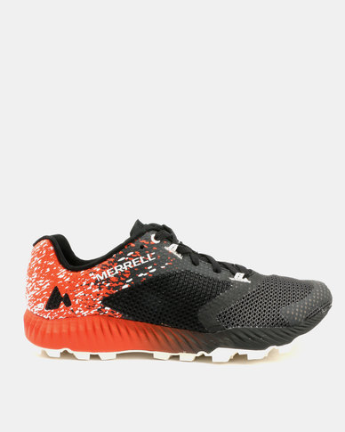 Merrell All Out Crush 2 Sneakers Black & Spicy Orange