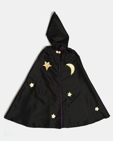 Fairy Shop Classic Wizard Cape Black