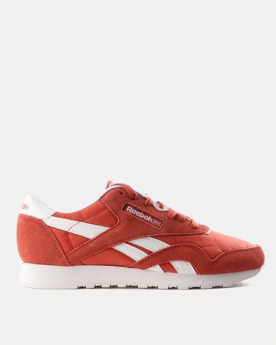 Reebok Classic Nylon Neutrals Sneakers Clay Tint   White  dfb58f257