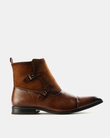 Mazerata Grazie 36 Formal Boots Tan