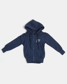 Lizzard Boys Phoenix Zip Thru Hoodie Blue
