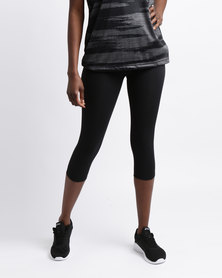 Utopia Active Capri Black
