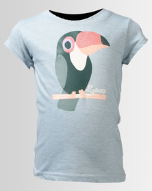 Lizzy Girls Ceira Tee Turquoise