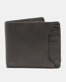 JCrew Leather Wallet Chocolate