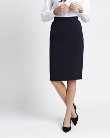 Duchess Didi Skirt 60cm Length Navy