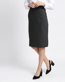 Duchess Didi Skirt 60cm Length Charcoal