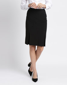 Duchess Lize Skirt 60cm Length Black