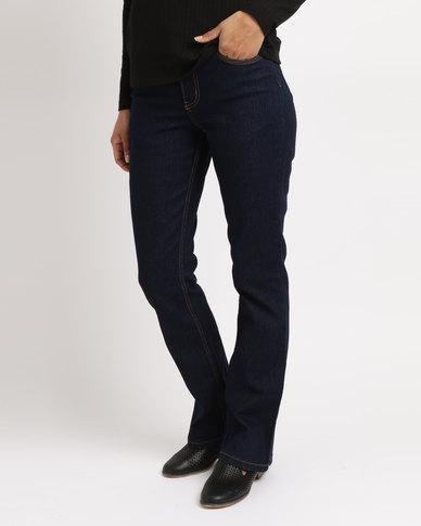 Oakhurst Denim Bootleg Jeans Blue